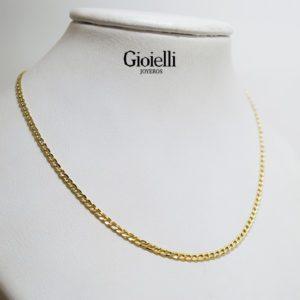 cadena martillada Oro 18k