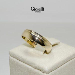 Argollas de Matrimonio en Oro 18k con Diamantes